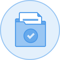 folder and document icon